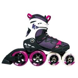 Black/Purple K2 VO2 100 X Pro Inline Skate (Women\'s)