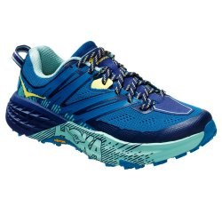 Seaport/Medieval Blue Hoka One One Speedgoat 3 Trail Running Shoe (Women\'s)
