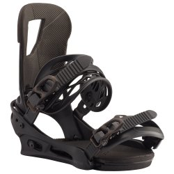 Black Burton Cartel Snowboard Binding (Men\'s)