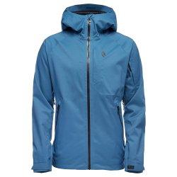 Astral Blue/Carbon Black Diamond BoundaryLine Insulated Ski Jacket (Men\'s)