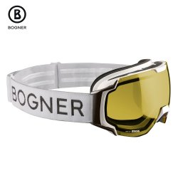 White Bogner Just B Polarized Goggle (Adults\')