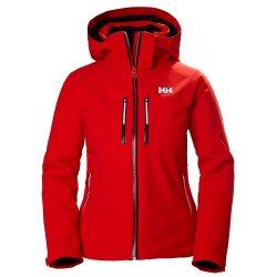 Alert Red Helly Hansen Alphelia LifaLoft Insulated Ski Jacket (Women\'s)