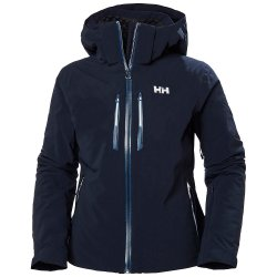 Navy Helly Hansen Alphelia LifaLoft Insulated Ski Jacket (Women\'s)