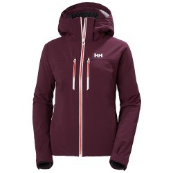 Wild Rose Helly Hansen Alphelia LifaLoft Insulated Ski Jacket (Women\'s)