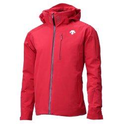 Electric Red /Black Descente Regal Insulated Ski Jacket (Men\'s)