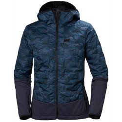Graphite Blue Camo Helly Hansen Lifa Loft Hybrid Insulator Jacket (Women\'s)