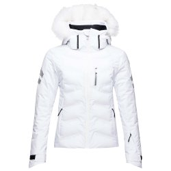 White Rossignol Depart Insulated Ski Jacket (Women\'s)