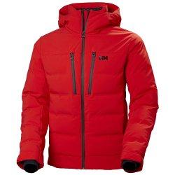 Red Helly Hansen Rivaridge Puffy Ski Jacket (Men\'s)
