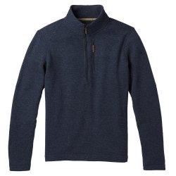 Navy SmartWool Hudson Trail Fleece 1/2-Zip Sweater (Men\'s)