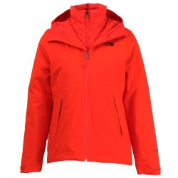Fiery Red The North Face Carto Triclimate Jacket (Women\'s)