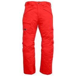Fiery Red The North Face Freedom Insulated Ski Pant (Men\'s)