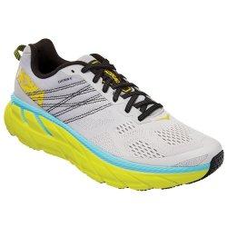 Lunar Rock/Nimbus Cloud Hoka One One Clifton 6 Running Shoe (Men\'s)