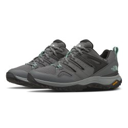 Zinc Grey/Moonlight Jade The North Face Hedgehog Fastpack II Waterproof Hiking Shoe (Women\'s)