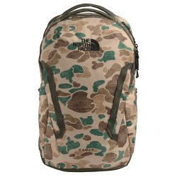 Hawthorne Khaki Duck Camo/New Taupe Green The North Face Vault Backpack (Men\'s)