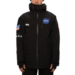 Black 686 NASA Exploration Thermagraph Insulated Snowboard Jacket (Men\'s)