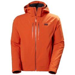 Patrol Orange Helly Hansen Alpha Lifaloft Insulated Ski Jacket (Men\'s)