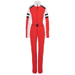 Ferrari Red Bogner Cat One Piece Ski Suit (Women\'s)