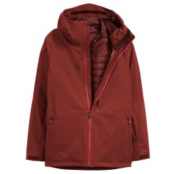 Brick House Red/Sequoia Red The North Face ThermoBall Eco Snow Triclimate Ski Jacket (Men\'s)