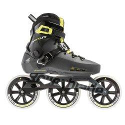 Metallic Grey/Lime Rollerblade Maxxum Edge 125 3WD Inline Skate (Men\'s)