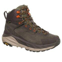Black Olive/Green Hoka One One Kaha GORE-TEX Hiking Boot (Men\'s)