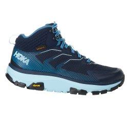 Black Iris/Aquamarine Hoka One One Toa GORE-TEX Hiking Boot (Women\'s)