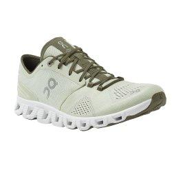Aloe/White On Cloud X Running Shoe (Men\'s)