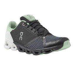 Black/White On Cloudflyer Running Shoe (Women\'s)