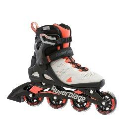 Grey/Coral Rollerblade Macroblade 80 Inline Skate (Women\'s)