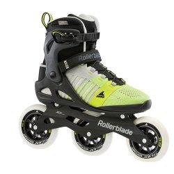 Grey/Yellow Rollerblade Macroblade 110 Inline Skate (Men\'s)