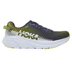 Odyssey Grey/White Hoka One One Rincon 2 Running Shoe (Men\'s)