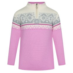 Pink Candy/Off White/Grey Dale of Norway Moritz Sweater (Kids\')