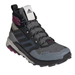 Metal Grey Adidas Terrex Trailmaker Mid GORE-TEX Hiking Boot (Women\'s)