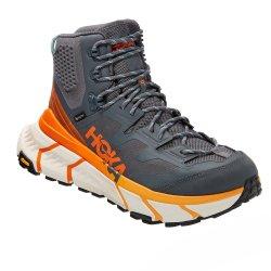Castlerock/Persimmon Orange Hoka One One TenNine Hike GORE-TEX Hiking Boot (Men\'s)