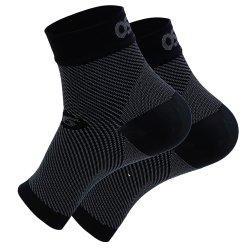 Black 0S1st FS6 Performance Foot Sleeve