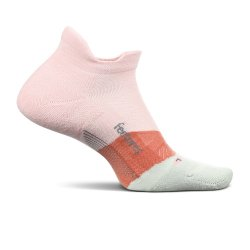 Blush Feetures Elite Light Cushion No Show Tab Running Socks (Men\'s)