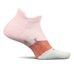 Blush Feetures Elite Max Cushion No Show Tab Running Sock (Men\'s)