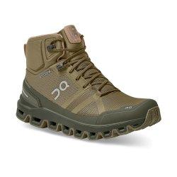 Olive/Reed ON Cloudrock Waterproof Trail Running Shoe (Women\'s)