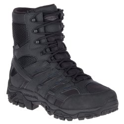 Black Merrell Moab 2.8 Tactical Waterproof Hiking Boot (Men\'s)