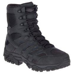 "Black Merrell Moab 2.8"" Tactical Waterproof Wide Hiking Boot (Men\'s)"
