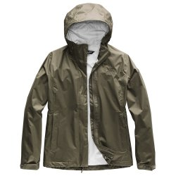 New Taupe Green The North Face Venture 2 Rain Jacket (Women\'s)