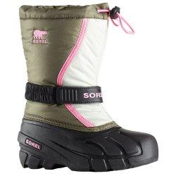 Sorel Boys Cheyanne II Lace Boots Youth 3-4-5-6-7 Waterproof Suede Snow//Rain