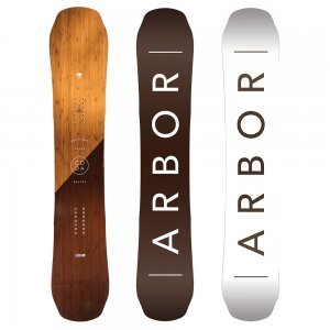 Image of Arbor Coda Rocker Mid Wide Snowboard (Men's)