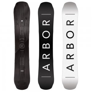 Image of Arbor Coda Camber Mid Wide Snowboard (Men's)