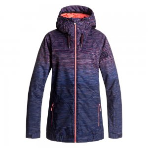 Roxy Valley Hoodie Insulated Snowboard Jacket (Women's)
