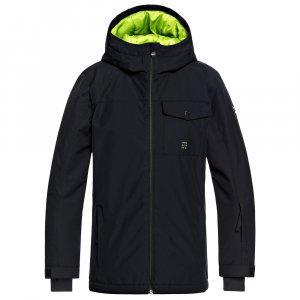 Quiksilver Mission Solid Insulated Snowboard Jacket (Boys')