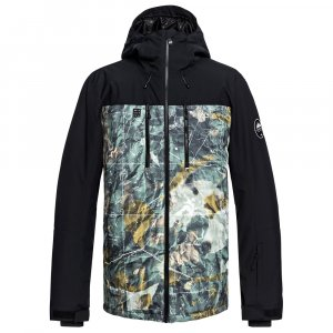 Quiksilver Mission Block Insulated Snowboard Jacket (Men's)