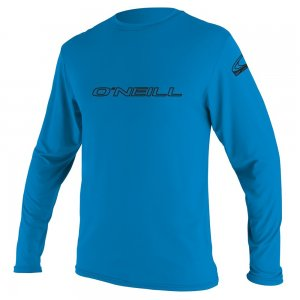 ONeill Basic Long Sleeve Rash T Shirt Mens