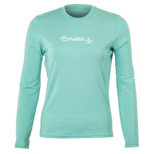 O'Neill Basic Long Sleeve Rash T Shirt (Women's)