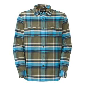 The North Face Bearhead Plaid Long Sleeve Shirt (Men's)