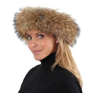 Image of Peter Glenn Finn Raccoon Fur Headband (Women's)